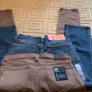 Brand new Levi and Paige pants
